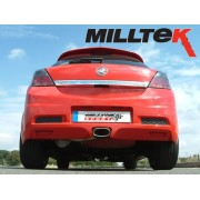 Vauxhall Mk5 Astra VXR Milltek Cat Back Exhaust System- Resonated