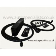 Ford Focus Mk2 RS Remote AS Performance Oil Cooler Kit - Top Grill Mounted