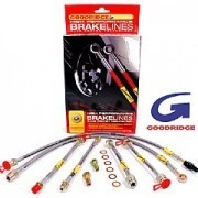 Skoda Fabia VRS 1999-2007 Goodridge Brake Line Set Braided Line Hose SSK0501-4P